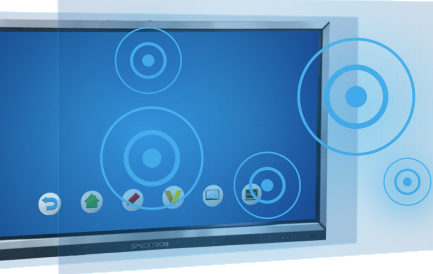 Ecran Interactive 65_ LED Specktron UDX-65